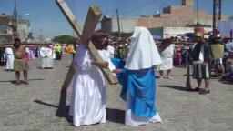 Via Crucis, Viernes Santo 2009, San Luis de la Paz, 10 Abril 2009