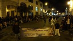 La Sexta Peregrinación Al Calor de la Gente y Los Danzantes. Diciembre 2010