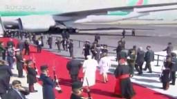 Ceremonia de despedida Visita Pastoral de su Santidad Benedicto XVI