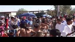 Chichimecas Trasladan el Chimal al Santuario. Diciembre 2010