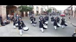 Semana del Cecyteg 2011: Desfilan y Tocan Bandas de Guerra