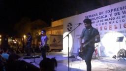 Grupo de Rock Aerosol de de Villagrán, Gto.  Semana Cultual Cecyteg 2011