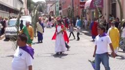 Domingo De Ramos 2011 En San Luis de la Paz, Gto.