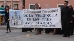 Procesión del Silencio, Viernes Santo 2011, S L Paz, Gto.