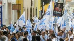 San Luis de la Paz Se Pinto De Azul, 06 Mayo 2012