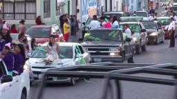 Caravana y Presentación de la Candidatas a Reina 2012, Feria Regional de San Luis de la Paz