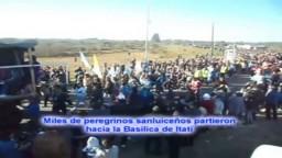 La 112º edición de la Peregrinación a Itatí es Impresionante (Argentina)