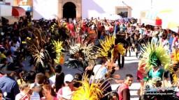 Ofrecen Flores a San Luisito