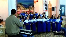 Coro de niños de La Virgencita, Campanas de Belén, San Luis de la Paz, Guanajuato