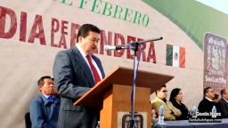 Día de la Bandera en San Luis de la Paz, 24 Febrero 2013