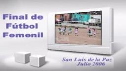 Final de Futbol Femenil, Julio 2006
