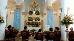 Mañanitas a la Virgen María, Parroquia de La Virgencita