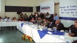 Reunion de Trabajo del Gobierno Municipal y Estatal
