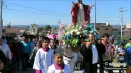 Procesión En Honor De Cristo Rey, Fiesta De La Montañita 2015