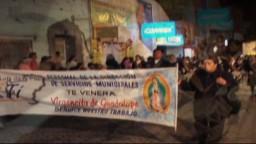 Peregrinacion Guadalupana 05 Dic 2007