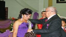 Emotiva Coronación de Karen I, Reina De Los Caballeros de Colón. 15-Nov-2008